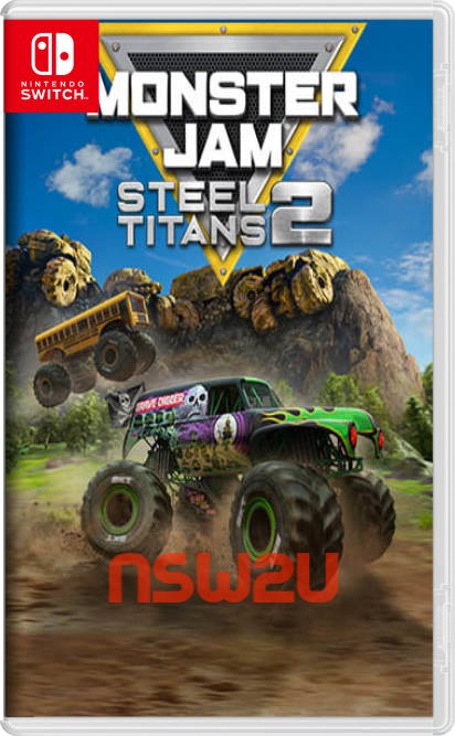 Monster Jam Steel Titans 2 Switch NSP XCI