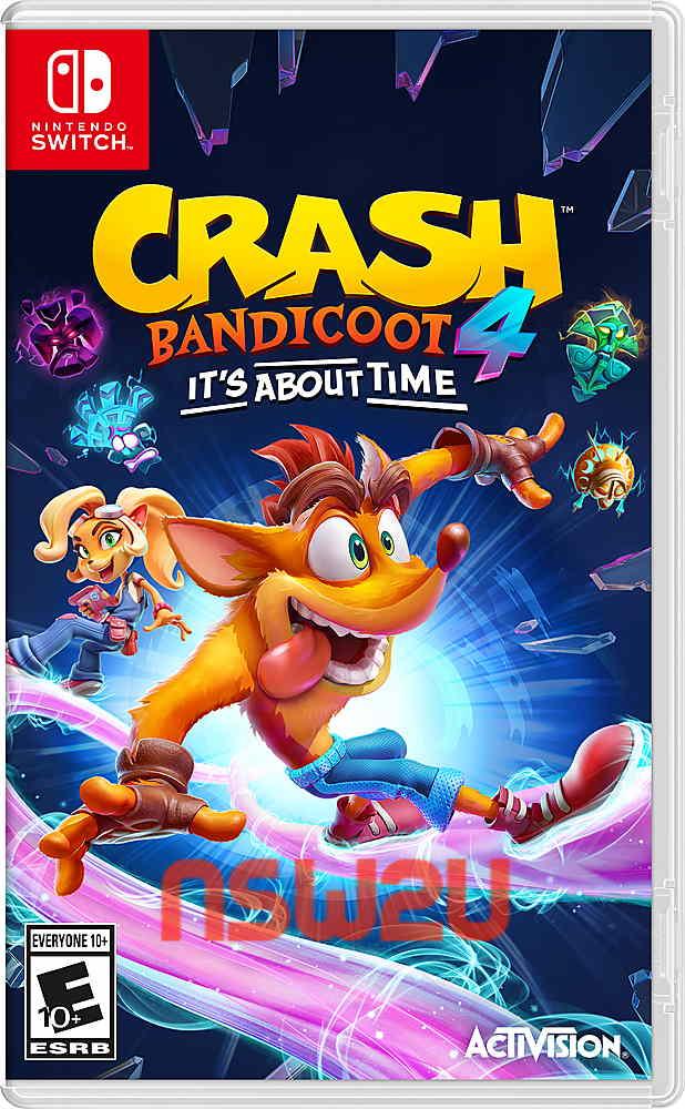Crash Bandicoot 4: It's About Time Switch NSP XCI NSZ
