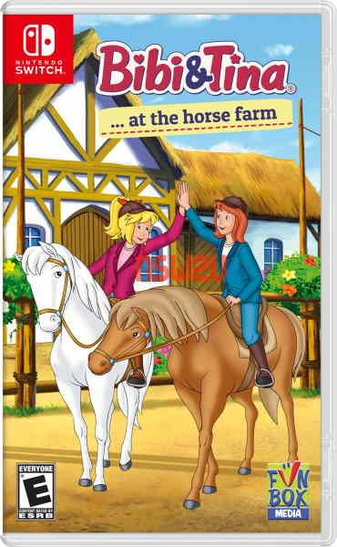 Bibi & Tina at the horse farm Switch NSP XCI