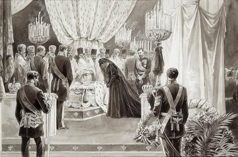 прощание с Александром III
