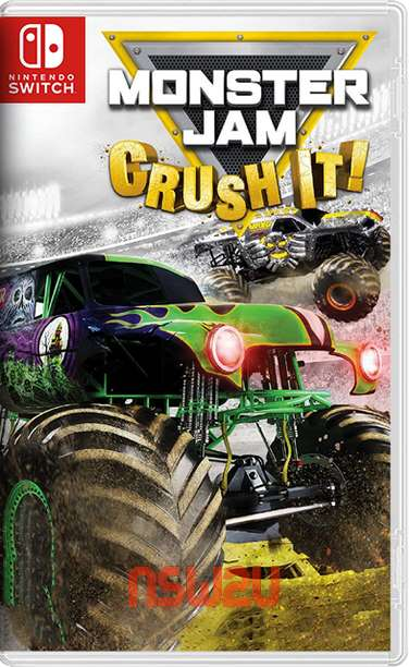 MONSTER JAM CRUSH IT! Switch NSP XCI