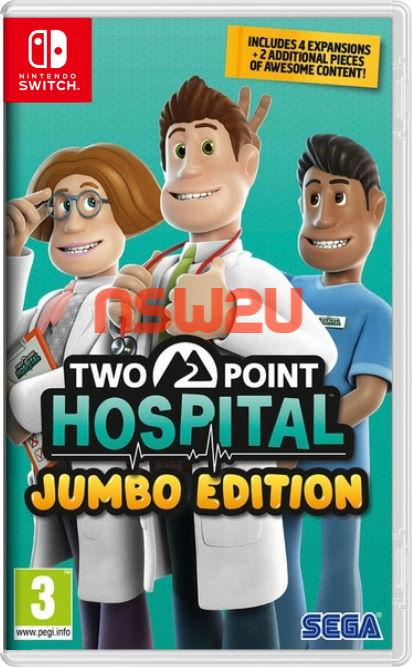 Two Point Hospital JUMBO Edition Switch NSP XCI NSZ