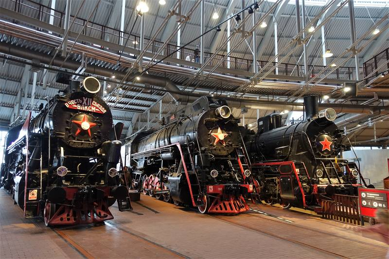 Железнодорожный музей Санкт-Петербург