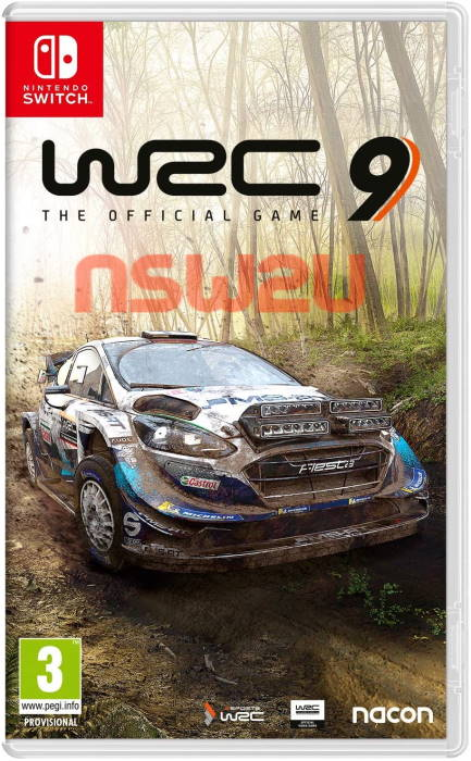 WRC 9 The Official Game Switch NSP XCI