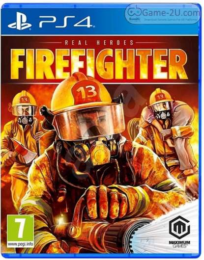 Real Heroes: Firefighter PS4 PKG