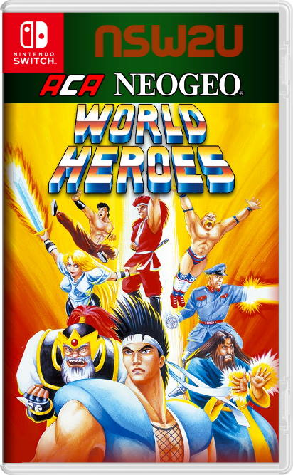 ACA NEOGEO WORLD HEROES Switch NSP XCI