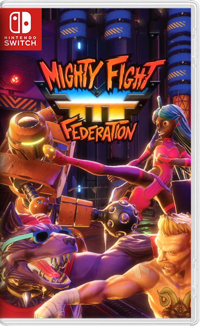 Mighty Fight Federation Switch NSP XCI
