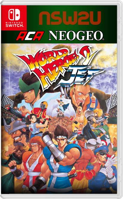 ACA NEOGEO WORLD HEROES 2 JET PS4 PKG