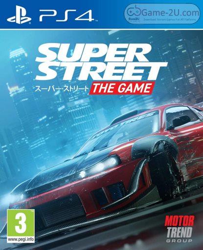 Super Street: The Game PS4 PKG