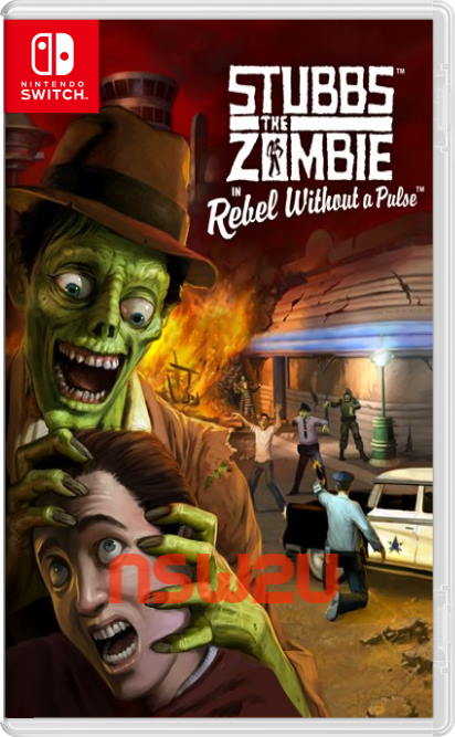 Stubbs the Zombie in Rebel Without a Pulse Switch NSP XCI NSZ