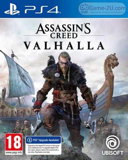 Assassin's Creed Valhalla PS4 PKG