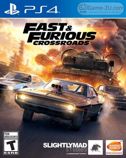FAST & FURIOUS CROSSROADS PS4 PKG