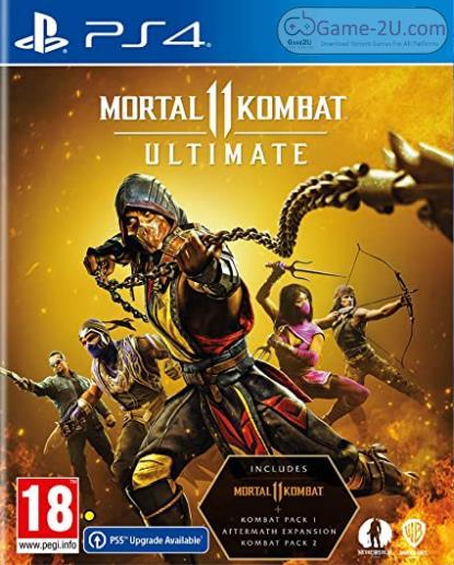 Mortal Kombat 11 Ultimate PS4 PKG