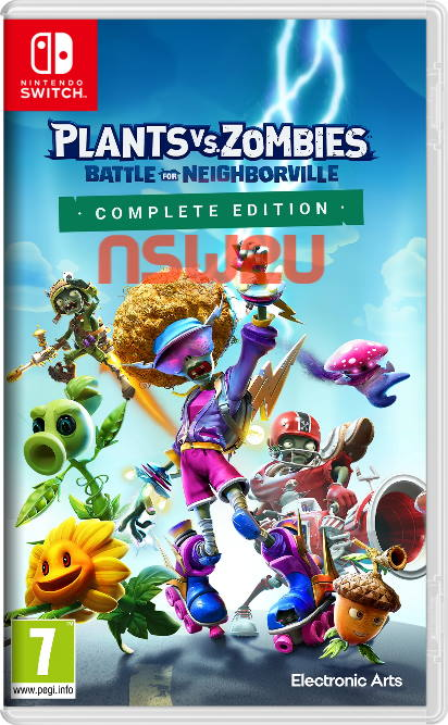 Plants vs. Zombies: Battle for Neighborville Complete Edition Switch NSP XCI NSZ