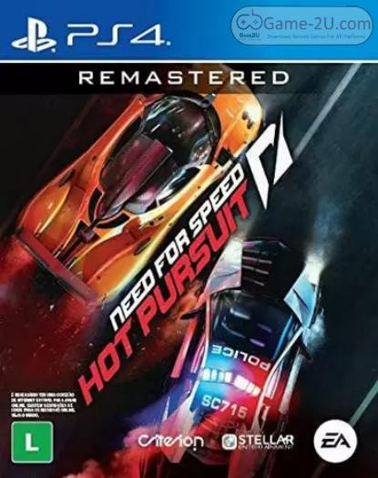 Need for Speed Hot Pursuit Remastered PS4 PKG