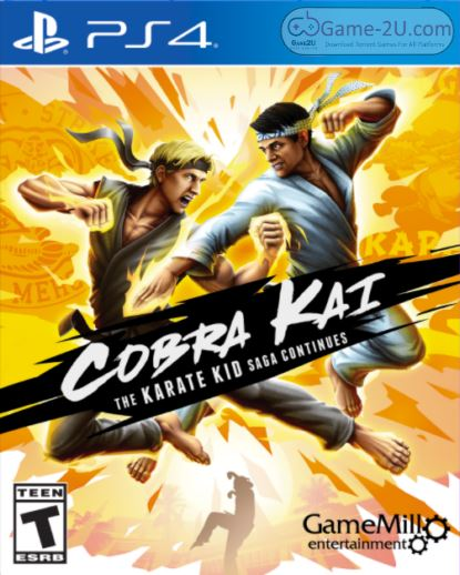 Cobra Kai: The Karate Kid Saga Continues PS4 PKG