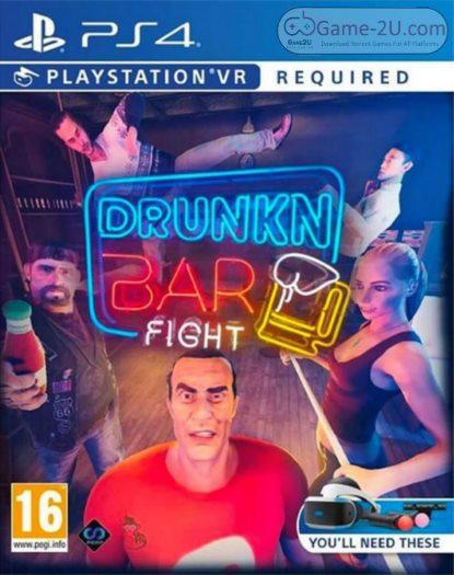 Drunkn Bar Fight PS4 PKG