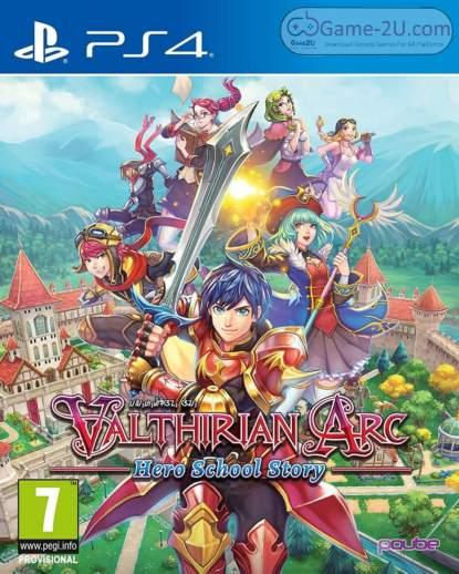 Valthirian Arc: Hero School Story PS4 PKG