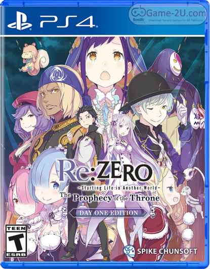 Re:ZERO -Starting Life in Another World- The Prophecy of the Throne PS4 PKG
