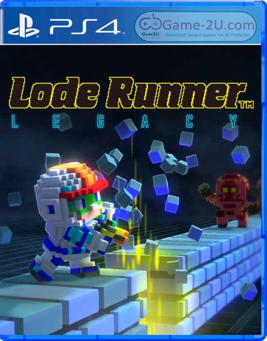 Lode Runner Legacy PS4 PKG