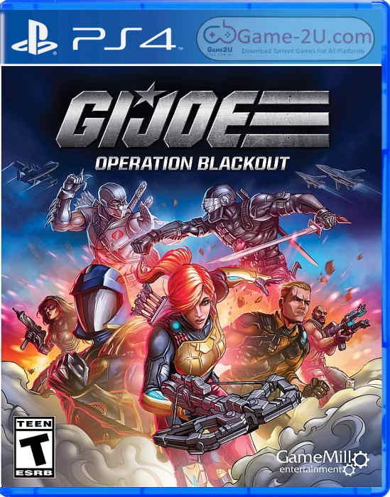 G.I. Joe: Operation Blackout PS4 PKG