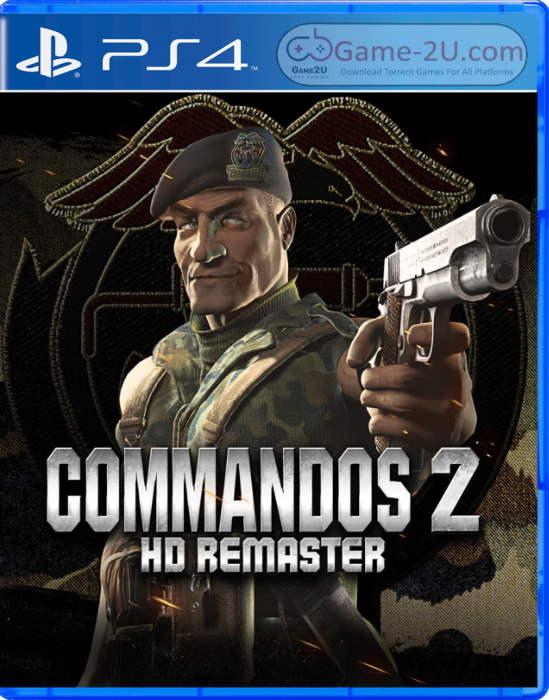 Commandos 2 – HD Remaster PS4 PKG
