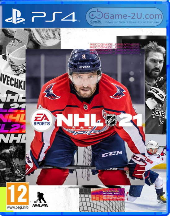 NHL 21 PS4 PKG