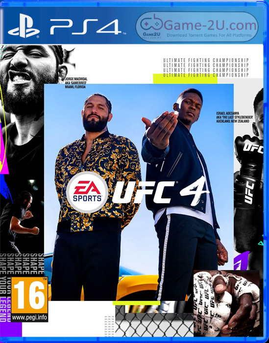 UFC 4 PS4 PKG Download Torrent