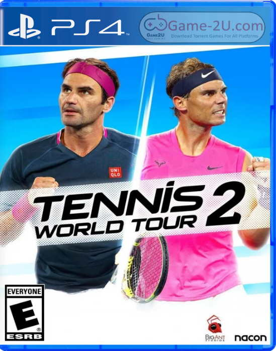 Tennis World Tour 2 PS4 PKG