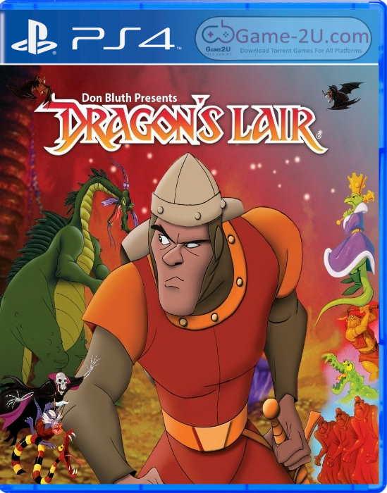 Dragon's Lair Trilogy PS4 PKG