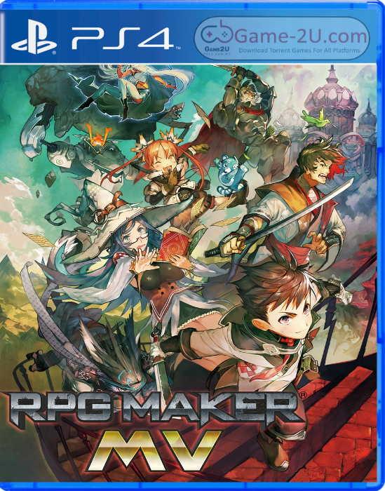 RPG Maker MV PS4 PKG