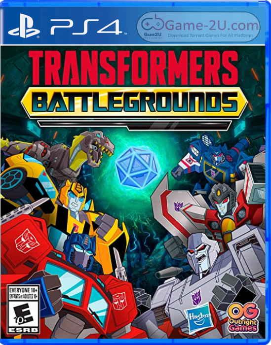 TRANSFORMERS: BATTLEGROUNDS PS4 PKG