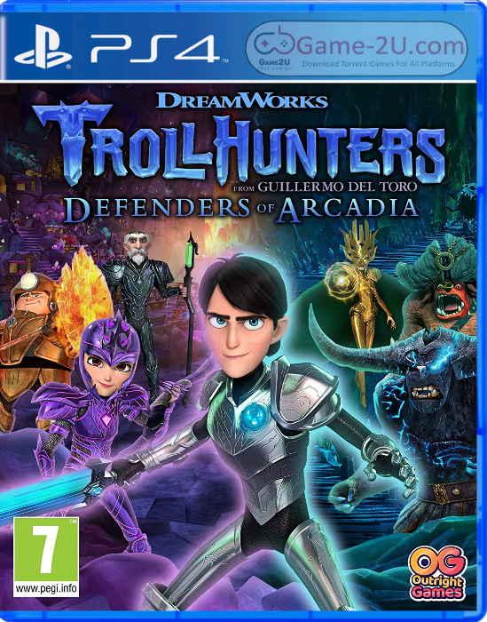 Trollhunters: Defenders of Arcadia PS4 PKG