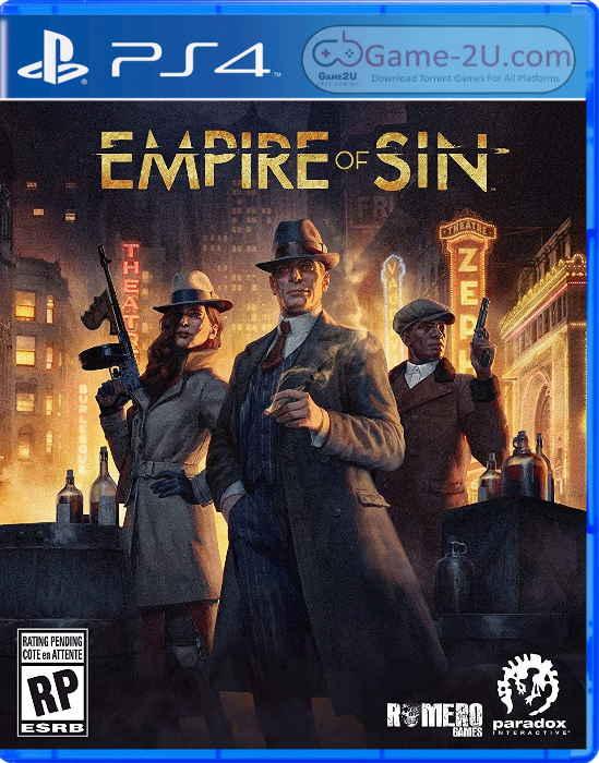 Empire of Sin PS4 PKG