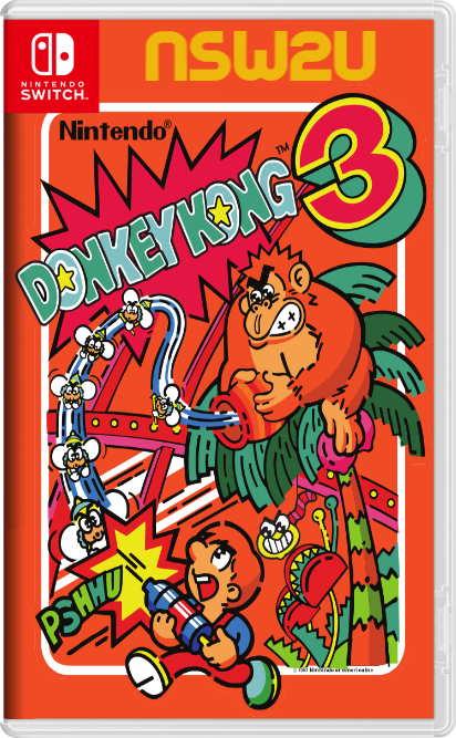 Arcade Archives DONKEY KONG 3 Switch NSP XCI