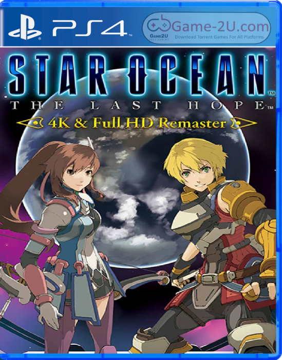 Star Ocean: The Last Hope – 4K and Full HD Remaster PS4 PKG