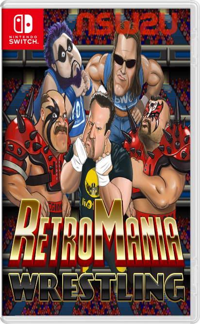 RetroMania Wrestling Switch NSP XCI NSZ