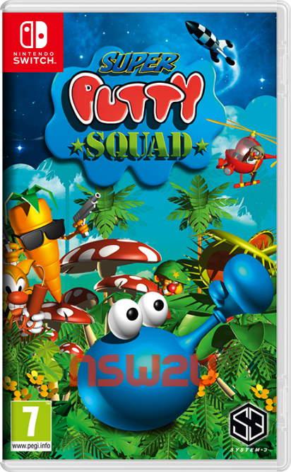 Super Putty Squad Switch NSP XCI NSZ