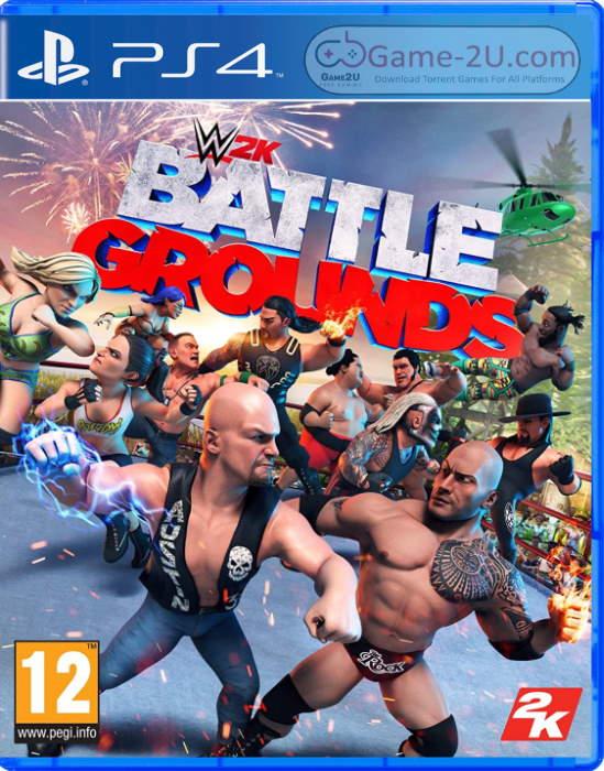 WWE 2K Battlegrounds PS4 PKG