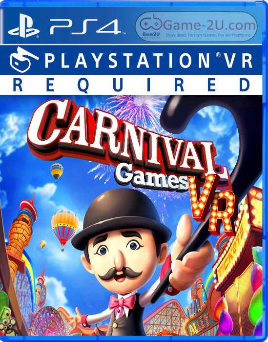 Carnival Games VR PS4 PKG