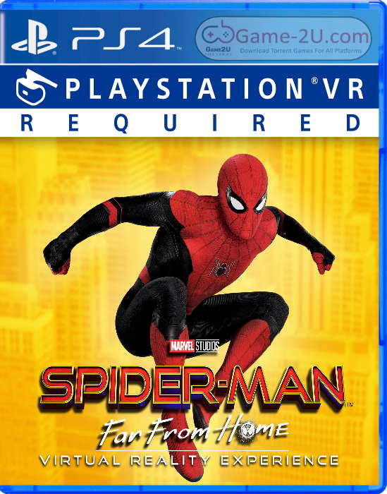 SPIDER-MAN: FAR FROM HOME VIRTUAL REALITY EXPERIENCE PS4 PKG