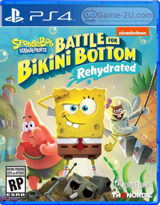 SpongeBob SquarePants: Battle for Bikini Bottom – Rehydrated PS4 PKG