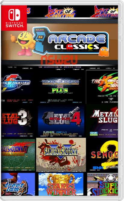 FBA Arcade Complete Roms Collection for Nintendo Switch NSP