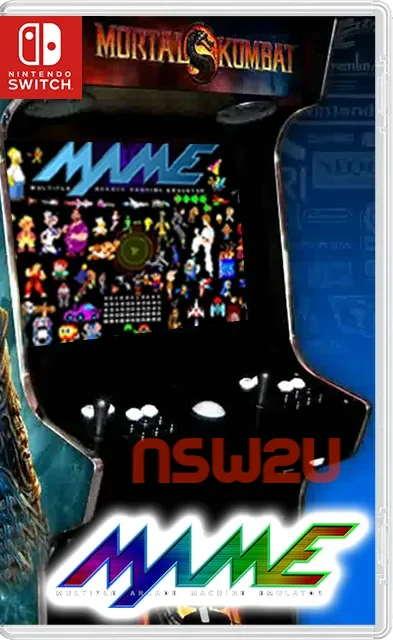 "Arcade machines (""MAME"") Emulator + 4859 ROM Switch NSP"