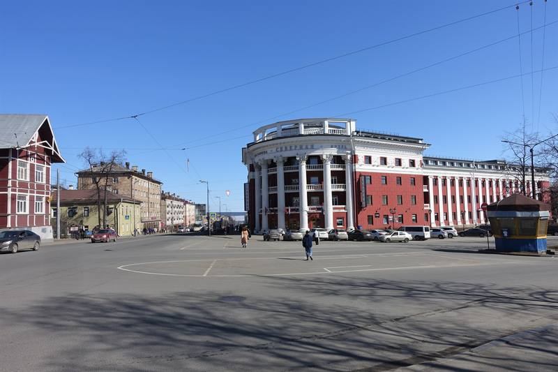 Проспект Ленина Петрозаводска
