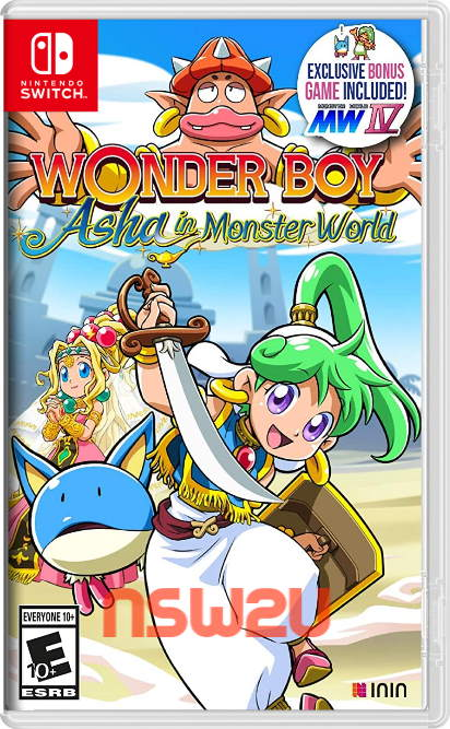 Wonder Boy Asha in Monster World Switch NSP XCI NSZ