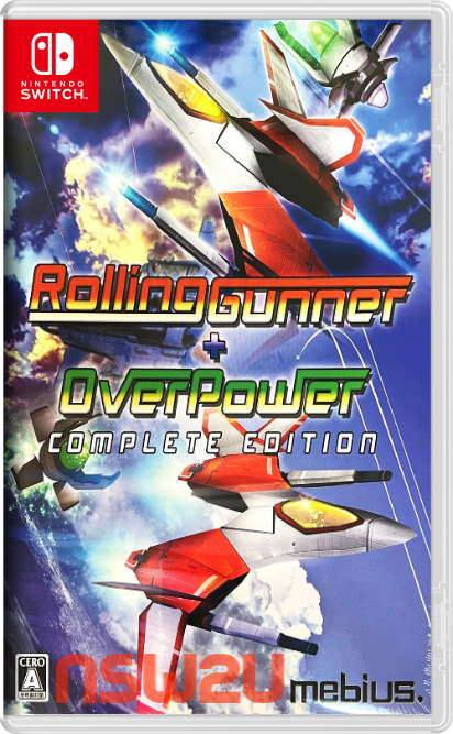 Rolling Gunner plus OverPower Switch NSP XCI