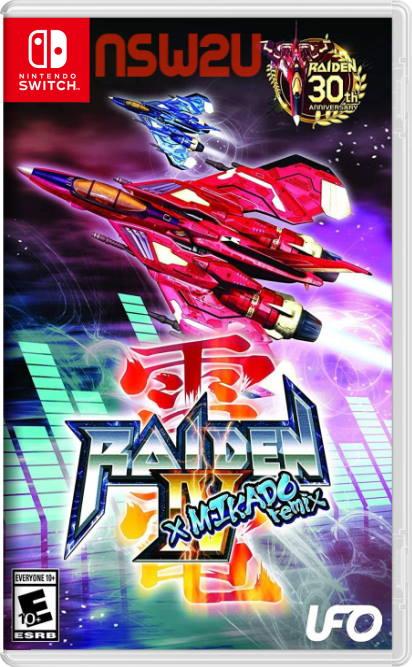 Raiden IV x MIKADO remix Switch NSP XCI NSZ