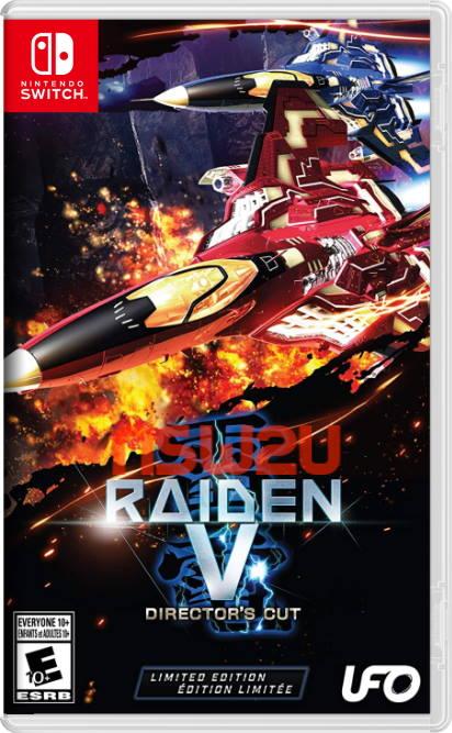 Raiden V: Director's Cut Switch NSP XCI