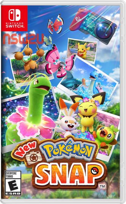 New Pokémon Snap Switch NSP XCI NSZ